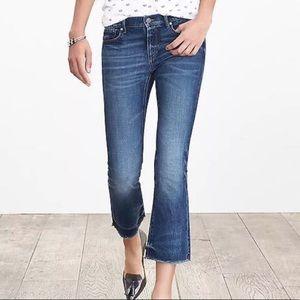 Banana Republic cropped jeans size 27